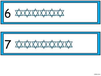 A+ Hanukkah ... Number Sense 0-10