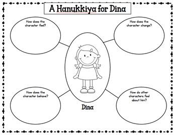 A Hanukkiyah for Dina literacy unit for Chanukah