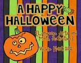 A Happy Halloween {Math and Language Arts Centers and Activities}