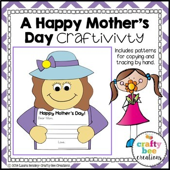A Happy Mother's Day Craftivity