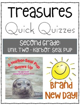 A Harbor Seal Pup Grows Up - Treasures Grade 2