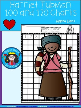 A+ Harriet Tubman: Numbers 100 and 120 Chart