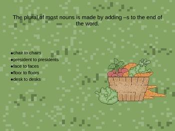 A Harvest of Plurals PowerPoint