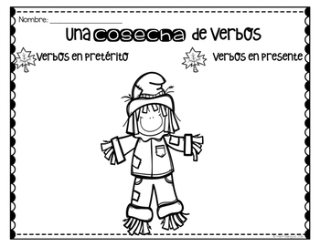A Harvest of Verbs {SPANISH}