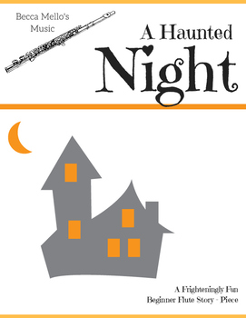 """A Haunted Night - Easy Flute """"Story-Piece"""""""