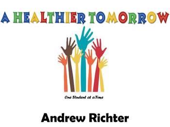 A Healthier Tomorrow - Health Education Activities