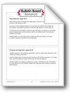 A Healthy and Happy Quiz Bulletin Board