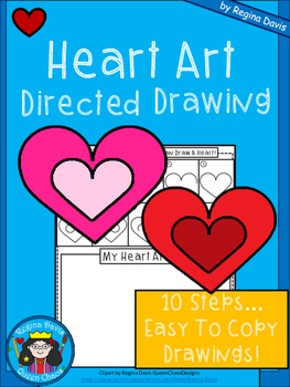 A+ Heart Art: Directed Drawing