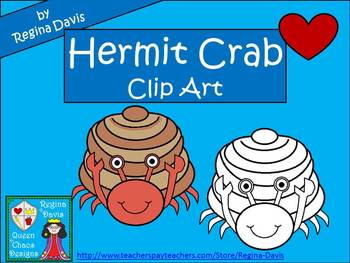 A+ Hermit Crab Commercial Clip Art