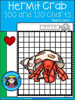 A+ Hermit Crab: Numbers 100 and 120 Chart