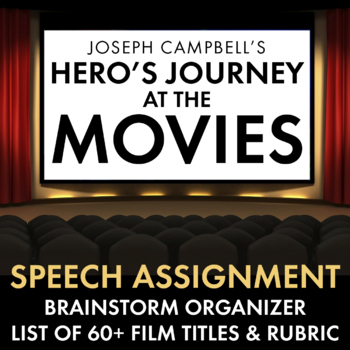 Hero's Journey – Speech Assignment Handouts and Detailed R