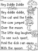 A+ Hey Diddle Diddle  Comprehension For Guided Reading