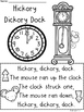 A+ Hickory Dickory Dock  Comprehension For Guided Reading