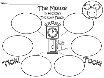 A+  Hickory Dickory Dock... Three Graphic Organizers
