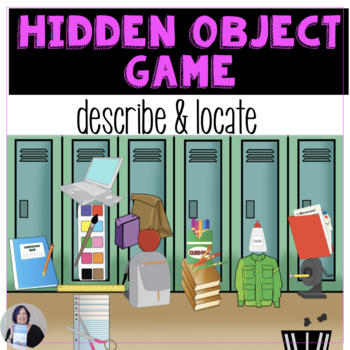 Speech Therapy Hidden Object Game for Language Skills and Life Skills