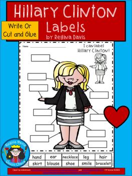 A+ Hillary Clinton Labels