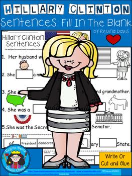 A+ Hillary Clinton Sentences: Fill In The Blank