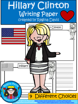 A+ Hillary Clinton Writing Paper