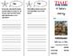 A Historic Journey Trifold - California Treasures 5th Grad