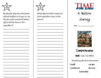 A Historic Journey Trifold - Treasures 5th Grade Unit 5 Week 3 (2009)