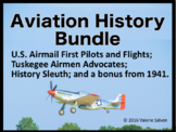 Aviation History Bundle—Early Airmail, Tuskegee Airmen Adv