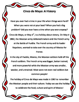 A History of Cinco De Mayo!