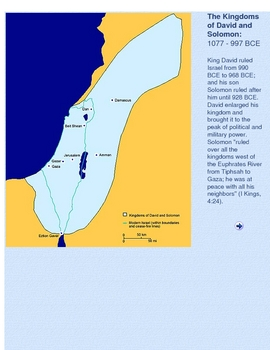 A History of Israel in Maps