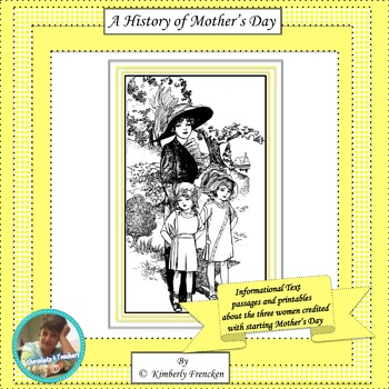 A History of Mother's Day: No Prep Non-Fiction Passages & Printables