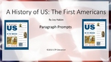 A History of US Books 1-10 Chapter Paragraph Response Powerpoints