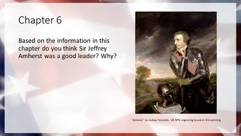 A History of US Books 1-5 Chapter Paragraph Response Powerpoint