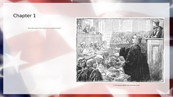A History of US: From Colonies to Country- Powerpoint Chapter Questions