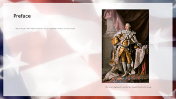 A History of US: From Colonies to Country: 1735-1791 - Chapter Questions PPT