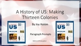 A History of US: Making Thirteen Colonies: 1600-1740 - Chapter Questions PPT
