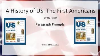 A History of US: The First Americans - Powerpoint Chapter