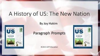 A History of US: The New Nation - Powerpoint Chapter Questions