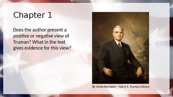 A History of Us: All The People Since 1945 Powerpoint Chapter Questions