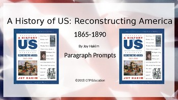 A History of Us: Reconstructing America - Chapter Questions PPT