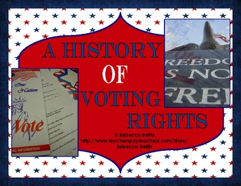 A History of Voting Rights FREEBIE