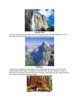A History of Yosemite National Park for Kids