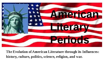 A History of the American Literary Periods