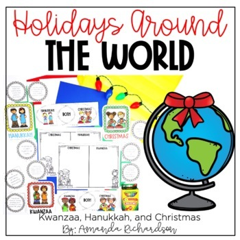 Holidays Around the World Bundle: Kwanzaa, Hanukkah, and Christmas