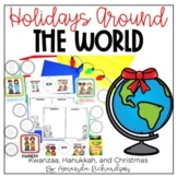 Holidays Around the World Bundle: Kwanzaa, Hanukkah, and C