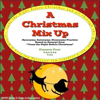 "A Christmas Mixup based on ""The Night Before Christmas"""