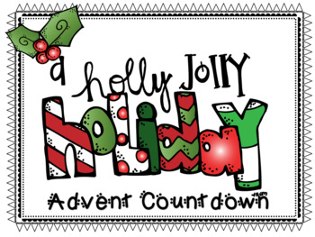 A Holly Jolly Holiday Advent Countdown
