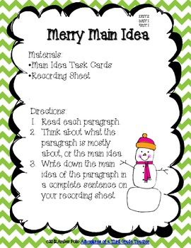 A Holly Jolly Common Core Christmas {Literacy Centers & Activities}