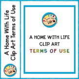 A Home With Life Clip Art Terms of Use