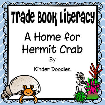 A Home for Hermit Crab Literacy Activities