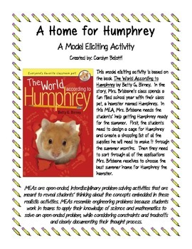 A Home for Humphrey MEA (Model Eliciting Activity)