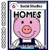Homes featuring The Three Little Pigs