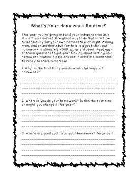 A Homework Survey: How do you do your HW?